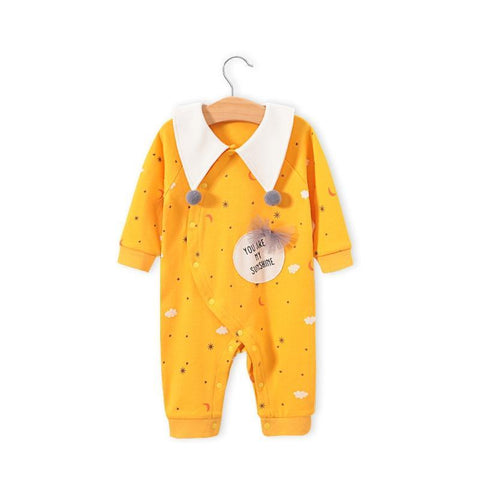 reborndollsshop baby clothing Sweet yellow jumpsuit suitable for 22'' rebirth dolls