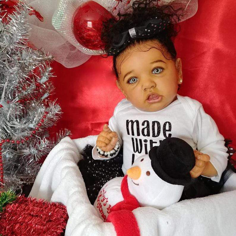 reborndollsshop bestseller 22'' Little Tracy Reborn Baby Doll Girl
