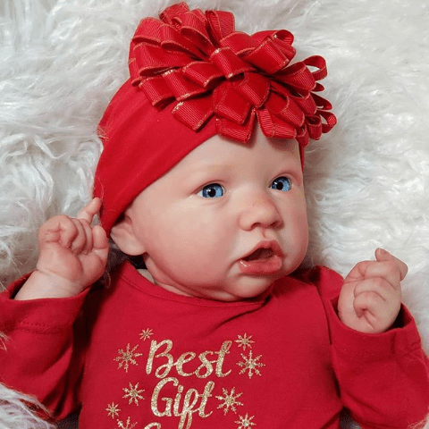 reborndollsshop bestseller Realistic 22'' Lyra Reborn Baby Doll - Give for Baby Christmas Gifts