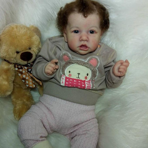 reborndollsshop bestseller Realistic 22'' Maddox  Reborn Baby Doll - Give for Baby Christmas Gifts