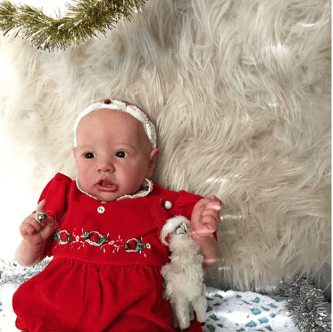 reborndollsshop bestseller Realistic 22'' Mara Reborn Baby Doll - Give for Baby Christmas Gifts