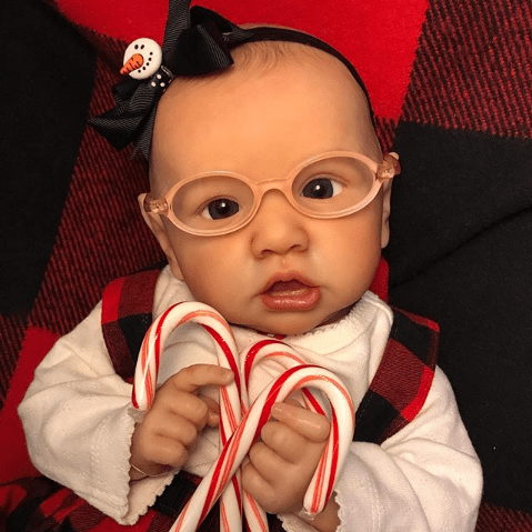 reborndollsshop bestseller Realistic 22'' Palmer Reborn Baby Doll - Give for Baby Christmas Gifts