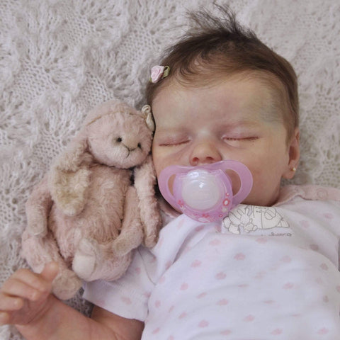 reborndollsshop new arrival2 17'' Lifelike Cute Lacey Reborn Baby Dolls-Great For Christmas Gift