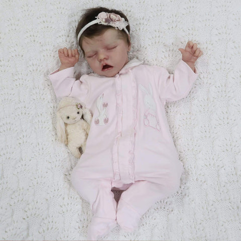 reborndollsshop new arrival2 17'' Realistic Cute Jamie Reborn Baby Dolls-Great For Christmas Gift