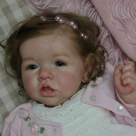 reborndollsshop new arrival2 22'' Sweet Briar Reborn Baby Doll Girl Realistic Toys Gift Lover