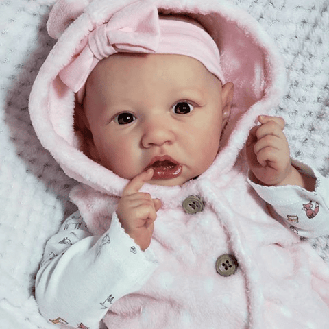 reborndollsshop new arrival2 22'' Sweet Kailey Reborn Baby Doll Girl Realistic Toys Gift Lover