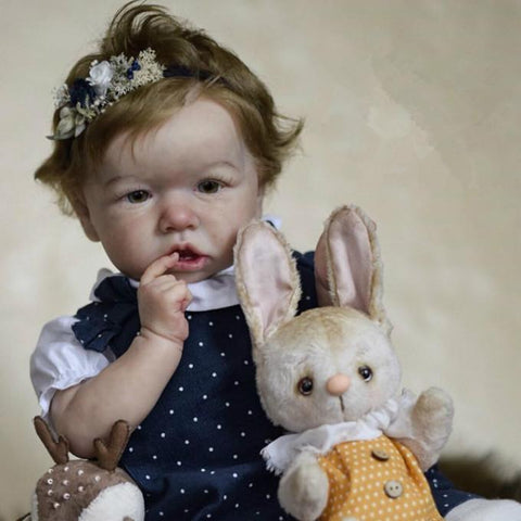 reborndollsshop saskia Realistic 22'' Calvin   Reborn Baby Doll - Give for Baby Christmas Gifts