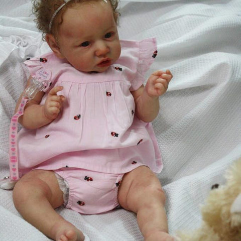 reborndollsshop saskia Realistic 22'' Jonah Reborn Baby Doll - Give for Baby Christmas Gifts