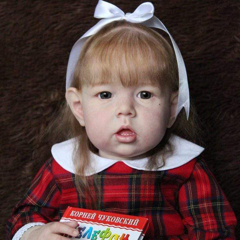 reborndollsshop Series Liam 22'' Little Raegan Cute Reborn Baby Doll