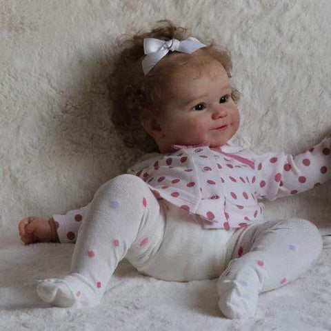 reborndollsshop Series Maddie 22'' Little Braelynn Cute Reborn Baby Doll -Realistic And Lifelike