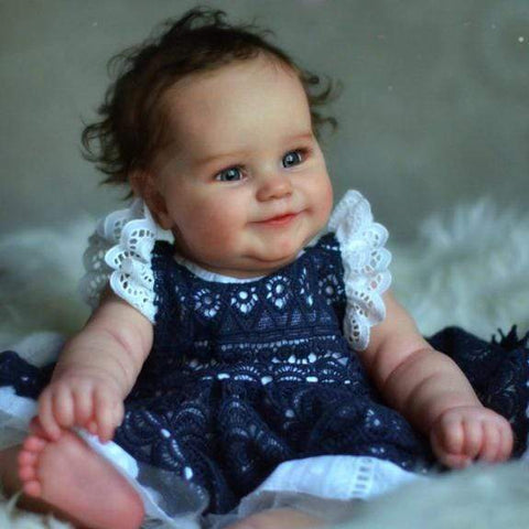 reborndollsshop Series Maddie 22'' Little Magnolia Cute Reborn Baby Doll -Realistic And Cute