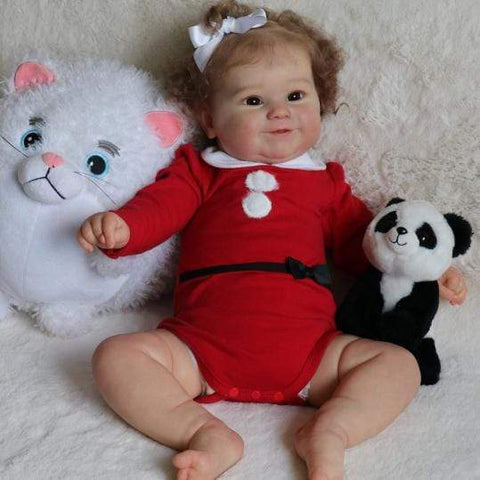 reborndollsshop Series Maddie 22'' Little Nadia Cute Reborn Baby Doll -Realistic And Lifelike
