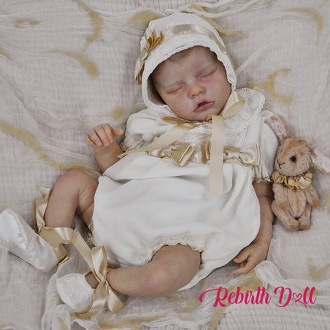 reborndollsshop TWIN A 17'' Realistic Cute Melany Reborn Baby Dolls-Great For Christmas Gift