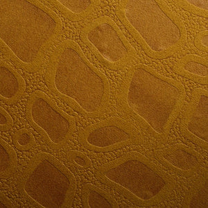 Cover Styl W2 - Orange Bubble Texture Fabric