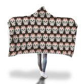 Skull Hooded Blanket