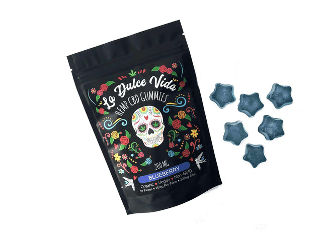 La Dulce Vida CBD Gummies for Sale | 200mg Blueberry
