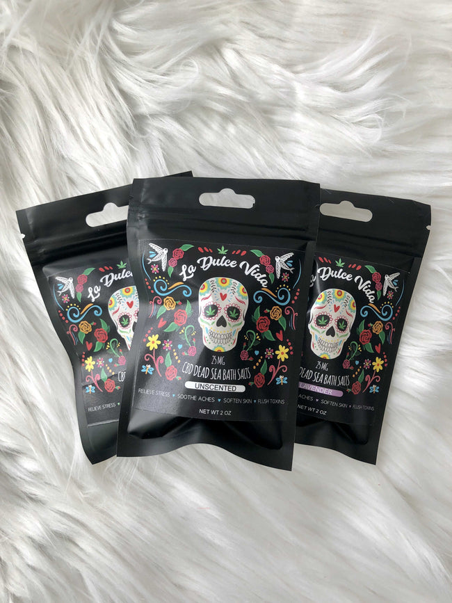 CBD Dead Sea Bath Salts