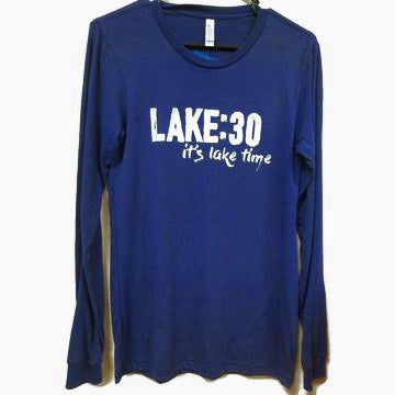 Lake30 Signature Long Sleeve Shirt Logo 3