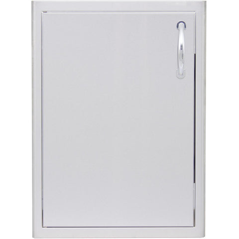 Blaze 21 Inch Single Access Door - Left Hinged (Vertical)