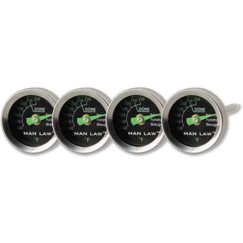 Man Law Potato Gauge Set of 4