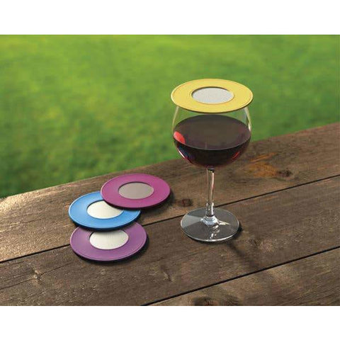 VENTILATED WINE GLASS COVER- Box Set of 4 covers