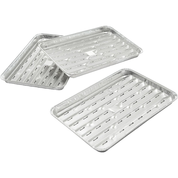 Narrow Foil Grilling Tray