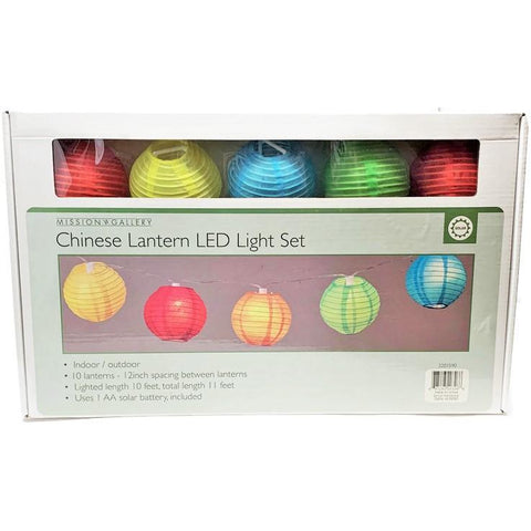 Solar LED Chines Lantn LightSet