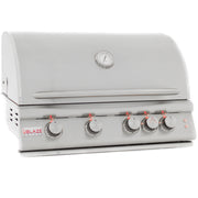 Blaze 4 Burner LTE Grill Built-In Natural Gas Grill with Lights