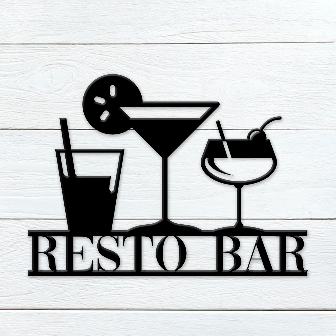 Bar Name Sign