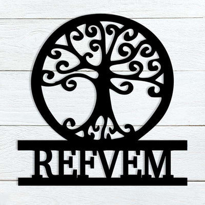 Tree of Life Name Sign