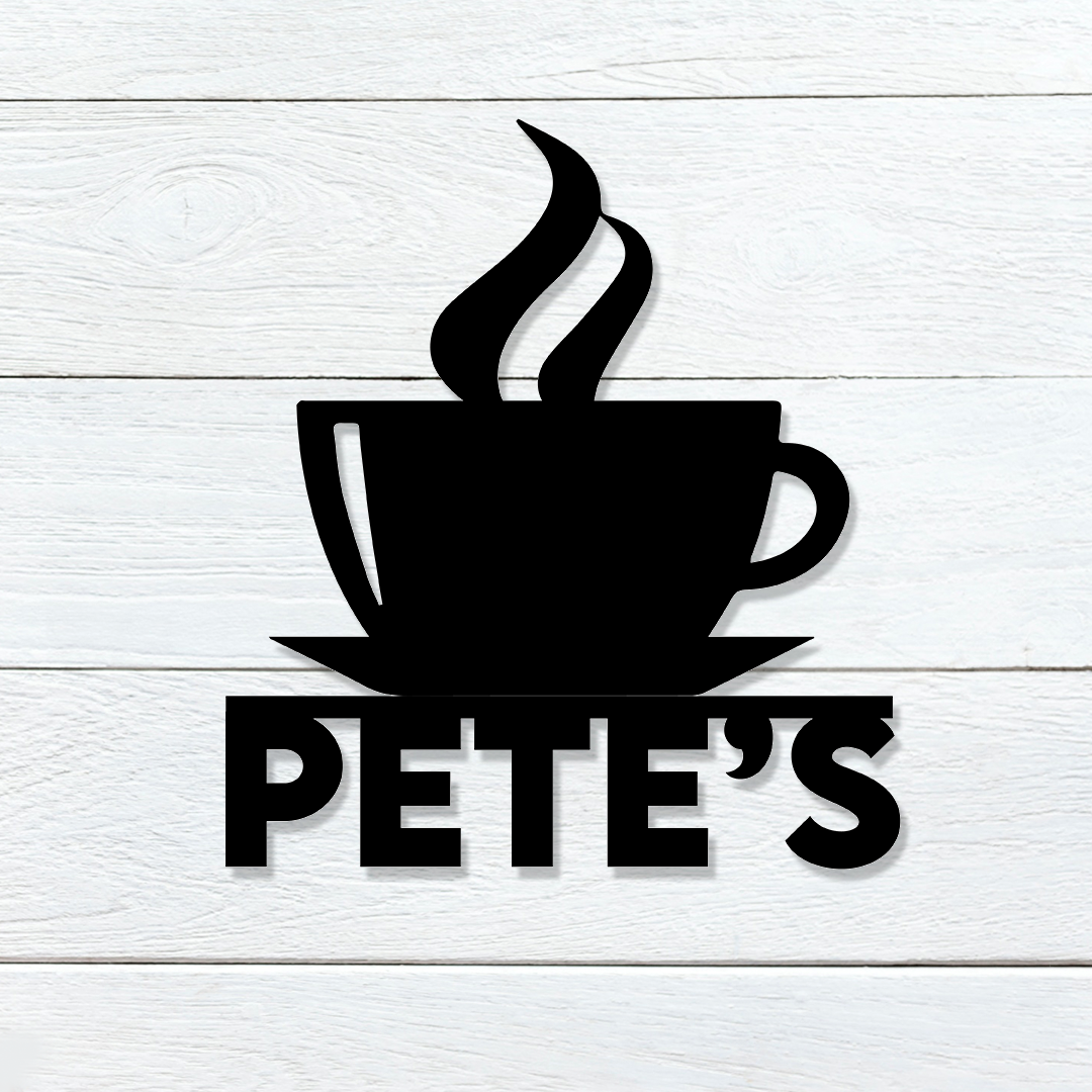 Coffee Name Sign
