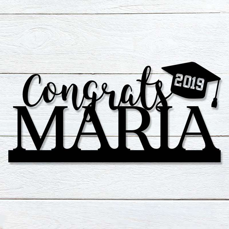 Custom Congrats Grad Sign