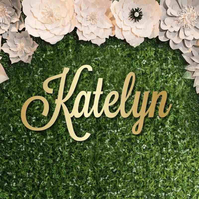 Custom Name Sign