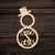 Snowman Monogram Ornament