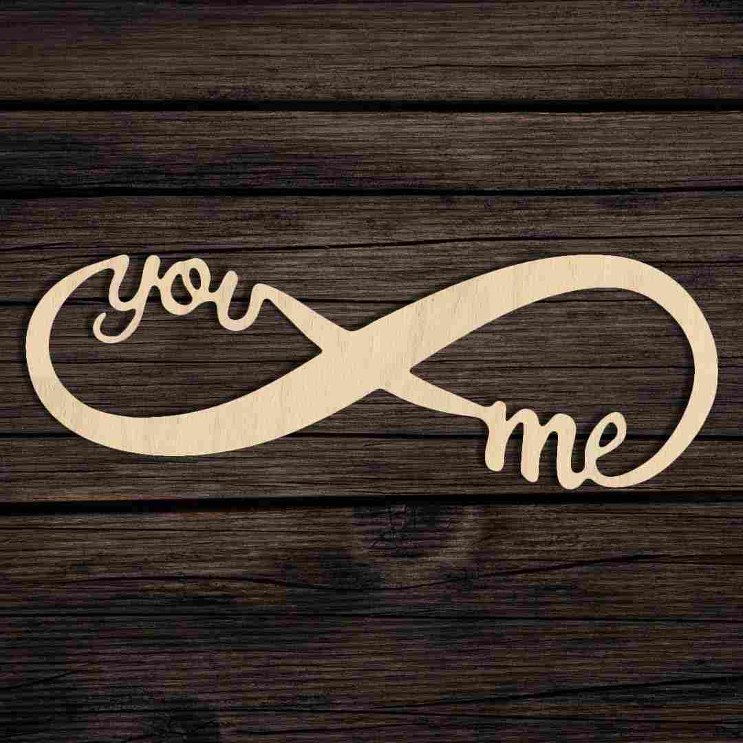 You And Me Infinity Sign