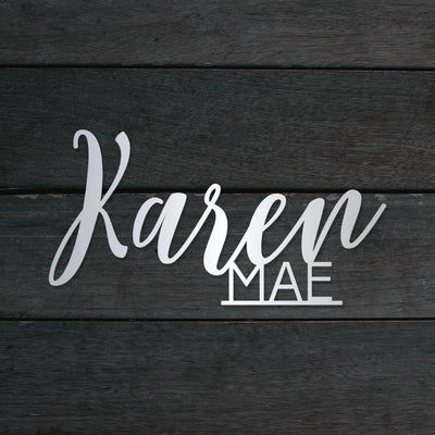 Double Name Sign