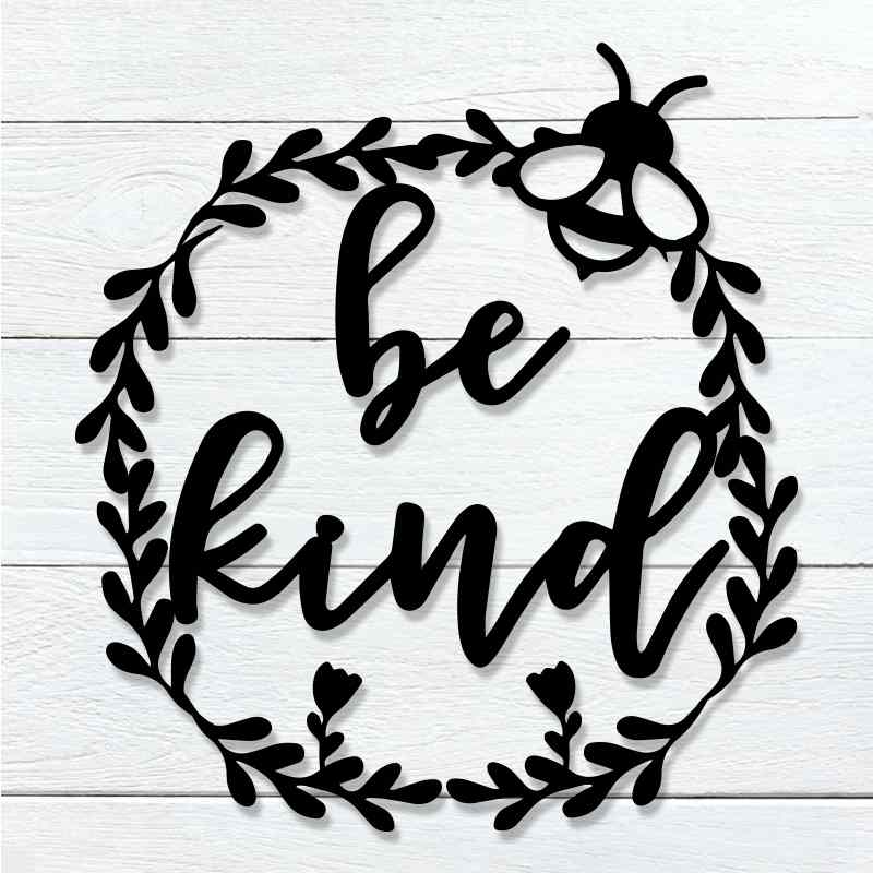 Be Kind Wreath