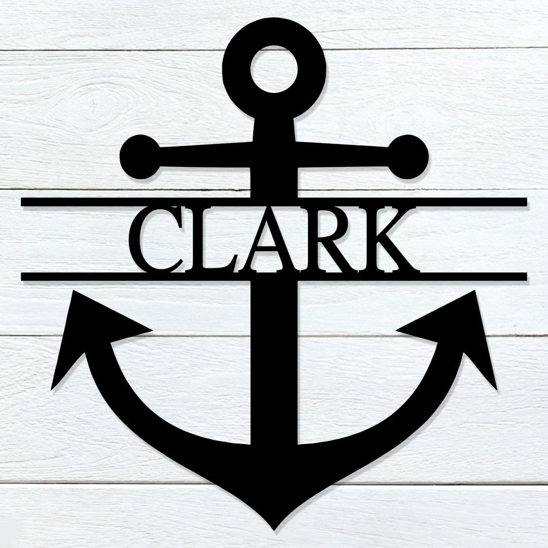 Anchor Name Sign