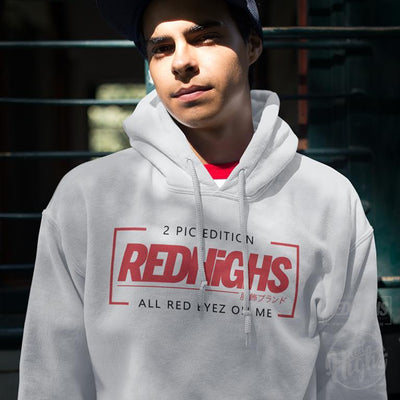 Hoodie - 2 pic edition (2pac x piccolo) - white-Hoodies-Red Highs-redhighs-streetwear-clothing