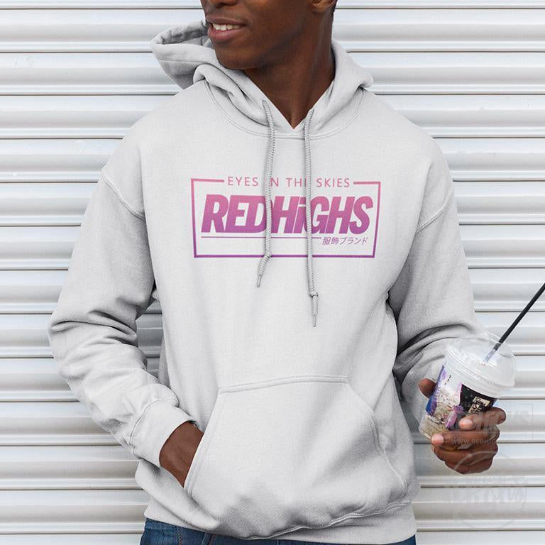 hoodie - majin boo ice cream - white-Hoodies-Red Highs-redhighs-streetwear-clothing