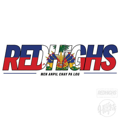 men tshirt - red highs Ayiti - navy-Men's T-Shirts-Red Highs-redhighs-streetwear-clothing