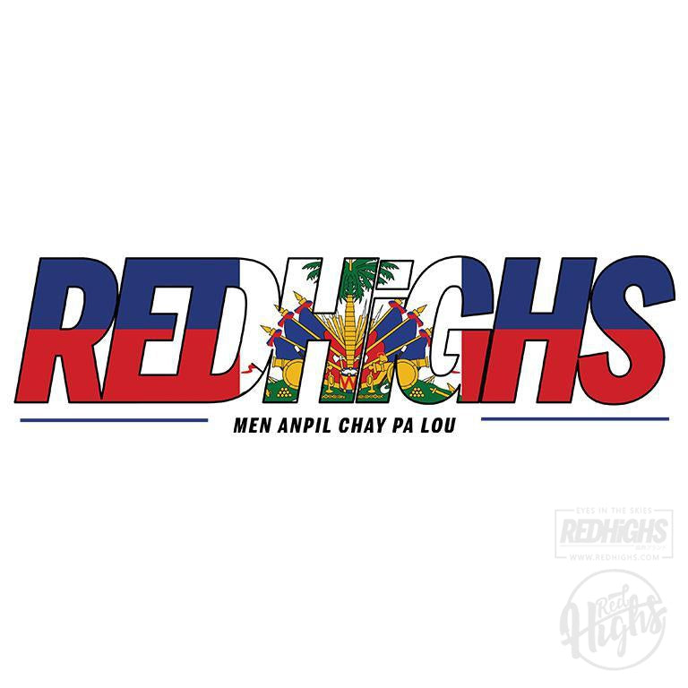 men tshirt - red highs Ayiti - white-Men's T-Shirts-Red Highs-redhighs-streetwear-clothing