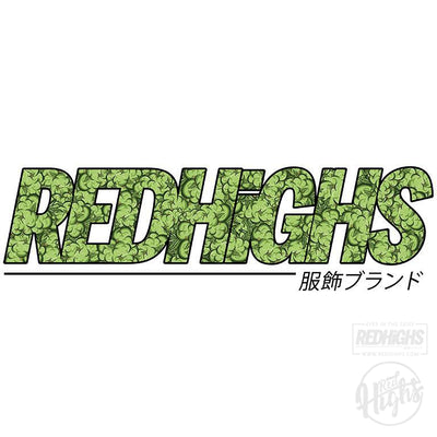 men tshirt - red highs weed - ash-Men's T-Shirts-Red Highs-redhighs-streetwear-clothing