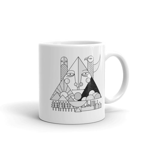 Face of the World Mug