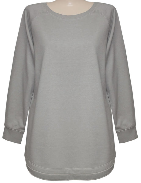 Style # 1608 - Modern French Terry Pullover