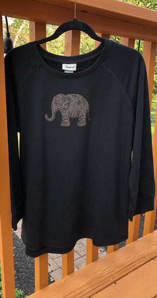 Alabama Large Crystal Elephant on style 1608