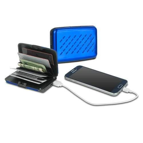 Viatek Pocket Jump Card Holder Wallet and 2300mAh Power Bank Portable Charger