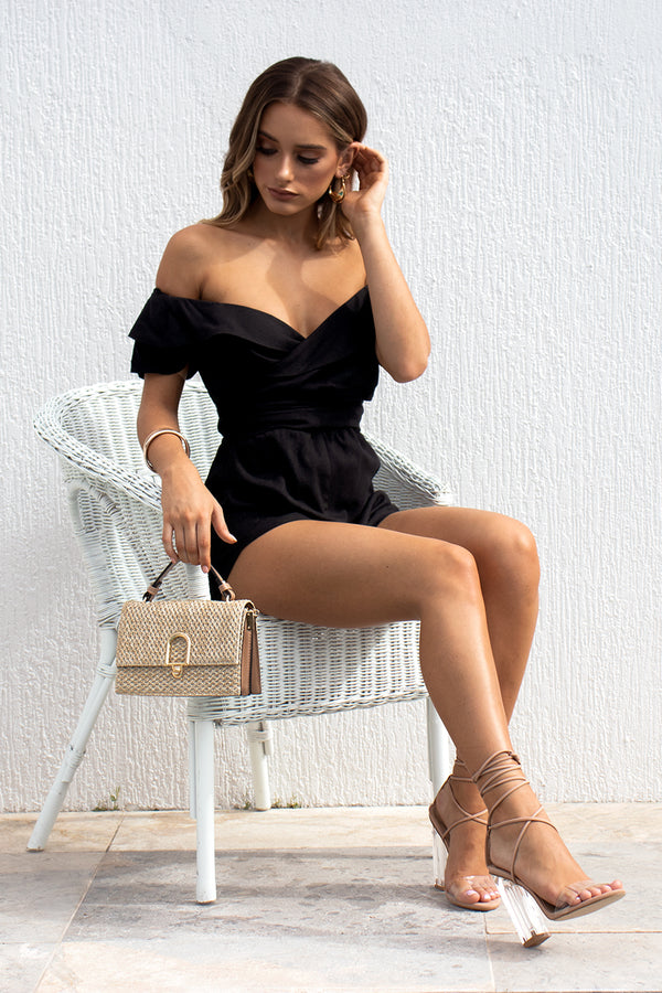 Donće Playsuit - Black