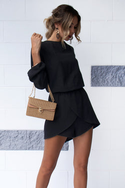 Layla Playsuit - Black