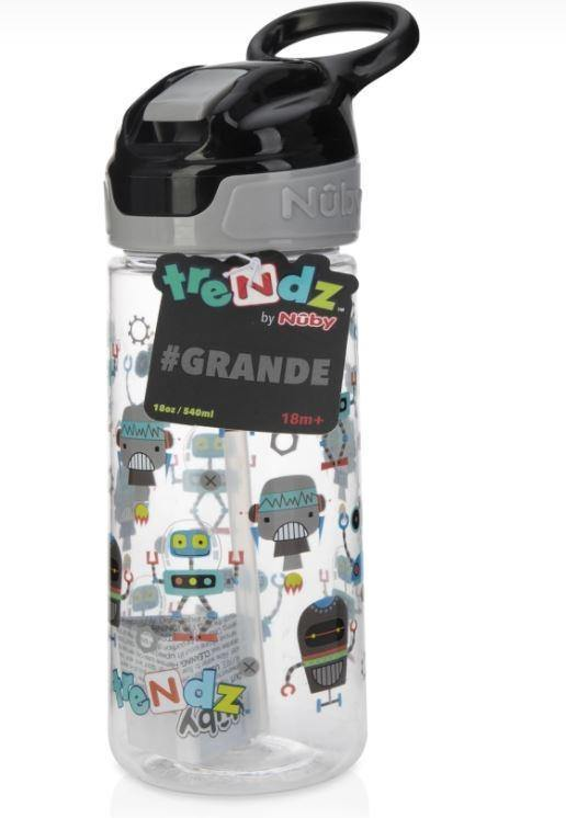 TAZA CON CANA 500 ML ROBOT TRENDZ BY NUBY - Farmashopping